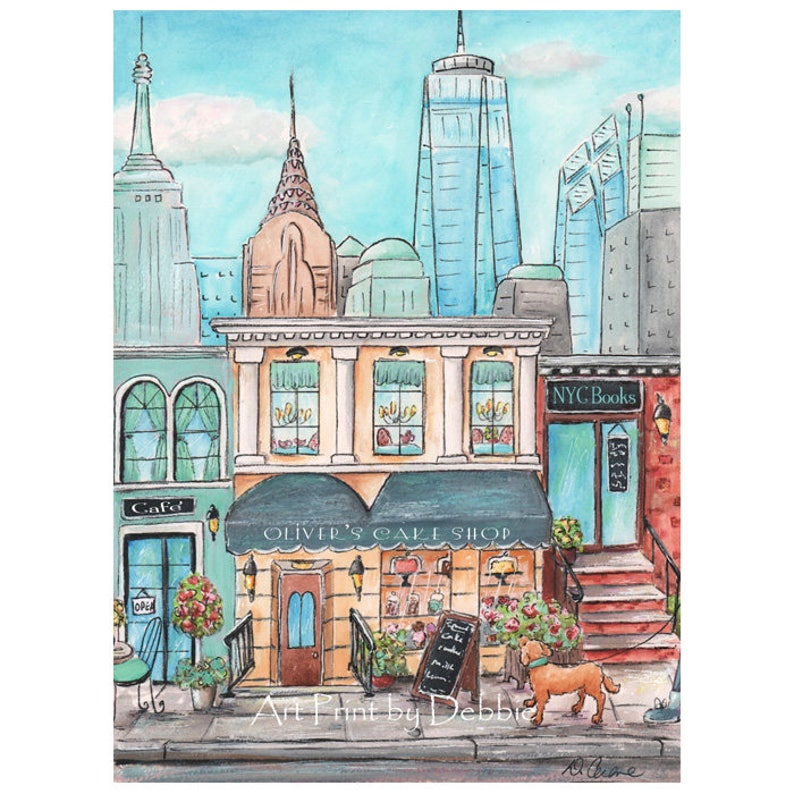 New York City Themed Nursery Print Personalized With Child\'s Name, Travel  Theme Nursery NYC Boys Room, 6 sizes 5x7 to 24x36 New York Poster