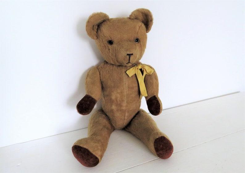 Antique French Teddy Bear Antique Teddy Bear Old Bear image 0