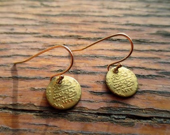 Copies of 18th Century Turkish coin earrings 22038