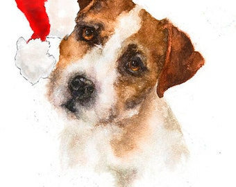 "Christmas Note Card ""Eddie"""