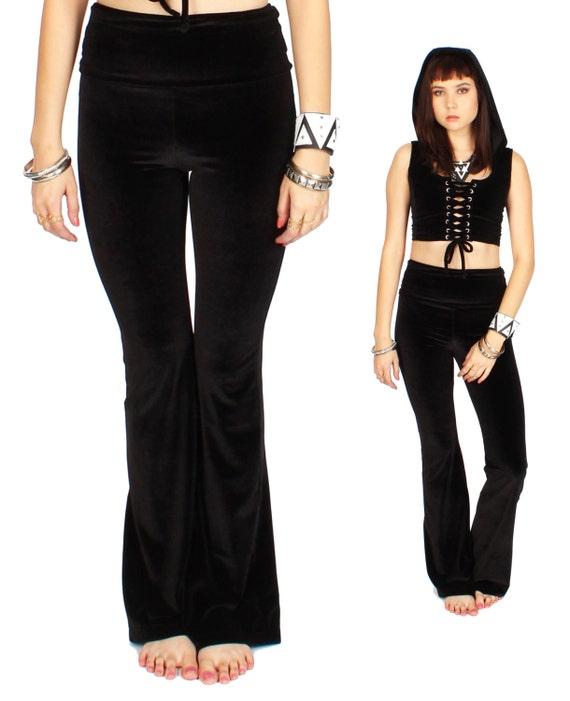 Straigt Leg Pants Velvet by Etsy