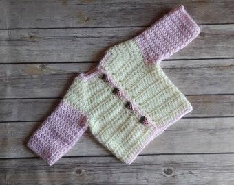 550111675 Strawberry sweater
