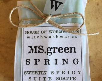 Ms. green SPRING sweetly sprigy suite soappe