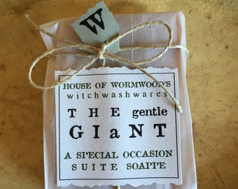 the Gentle G I A N T  a special occasion suite soappe