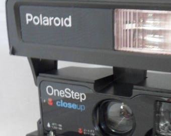 Polaroid One Step CloseUP Instant Camera, Vintage w/Neck Strap, Tested Works, Vintage Camera, 1980's Camera, Retro Polaroid