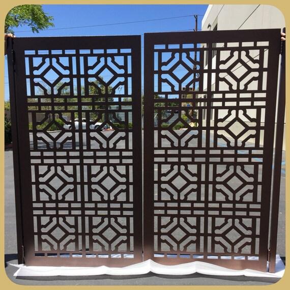 modern metal gate. Image 0 Modern Metal Gate O