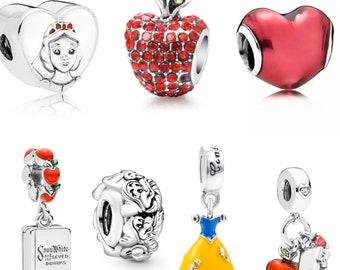 Disney Young Snow White Heart Charm © Disney High Charm It