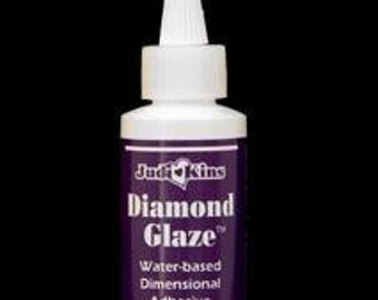 Judi Kins Diamond Glaze 2oz (Great for Photo Jewelry) and altered art -  Glue for Jewelry making
