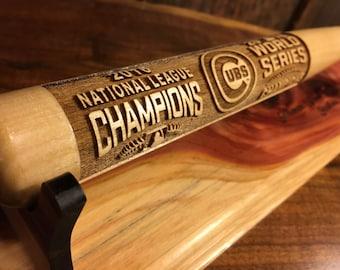 2016 World Series Championship Chicago Cubs Mini Commemorative Baseball Bat