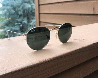 1cdd09199c20e1 Vintage Ray-Ban round sunglasses