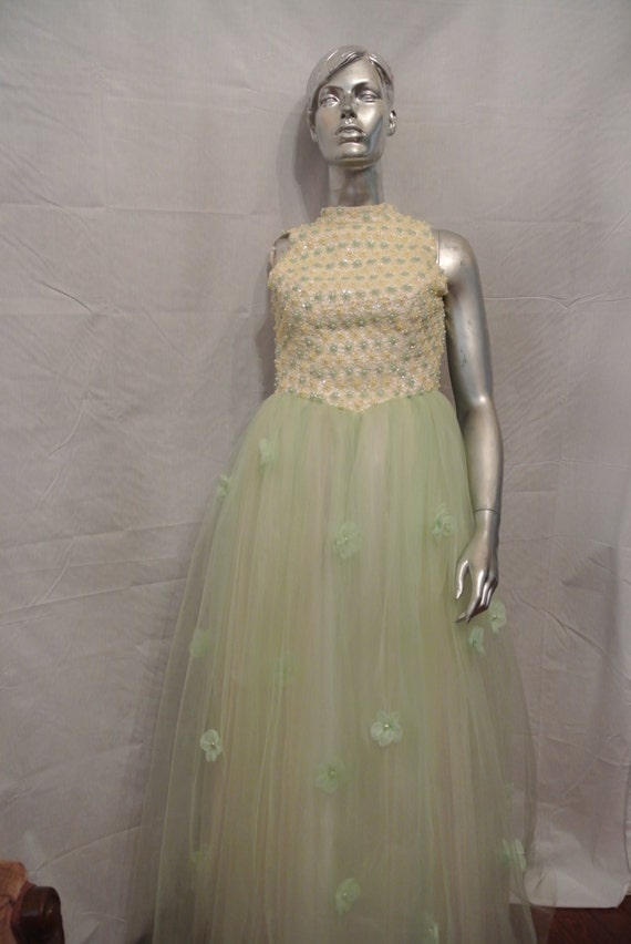 50's Couture Evening Gown