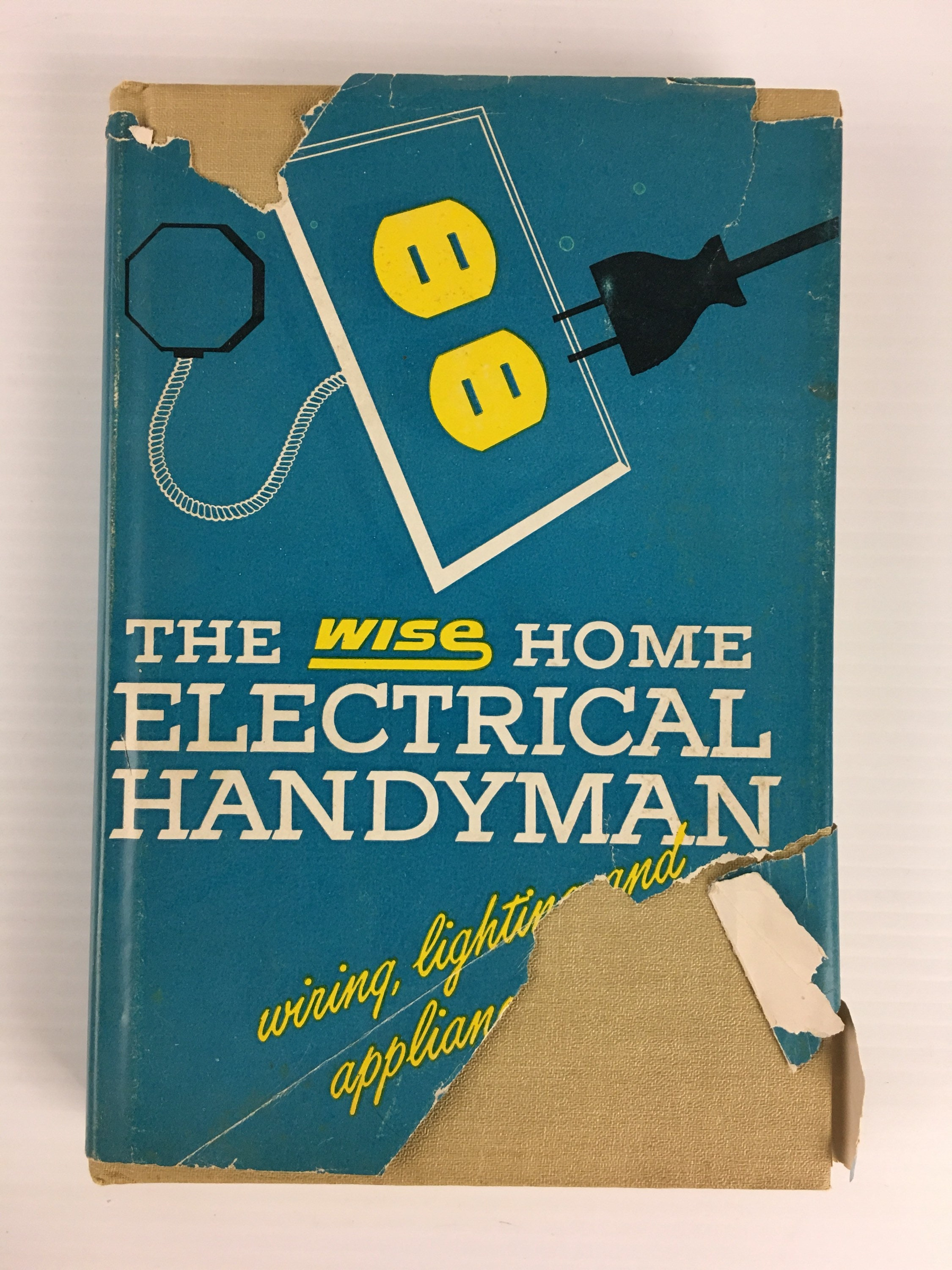 The Wise Home Electrical Handyman Hardcover Book Vintage | Etsy