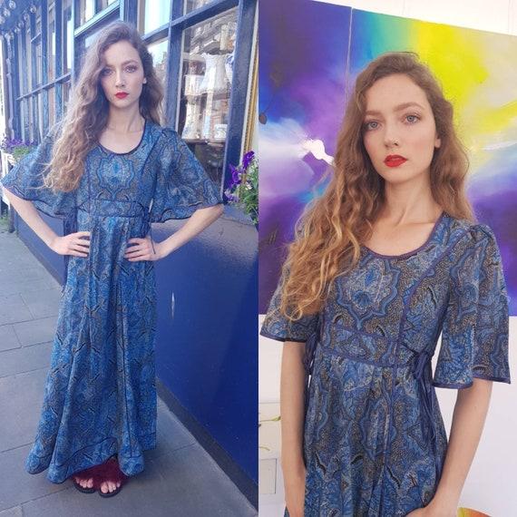 Beautiful RARE Blue vintage 70s AnnaBelinda Anna B