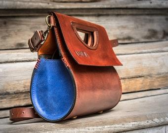 customizable personalized leather tote everyday crossbody travel handbag ladybuq original purse addition to a dress unique gift wedding bag
