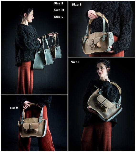 Office Bag Roomy Laptop Bag Made By Ladybuq Art Studio