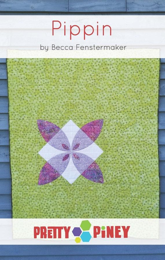 Pippin Modern Applique Baby Quilt Downloadable PDF Digital Pattern