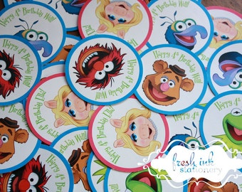 The Muppets Stickers - Choose Your Character