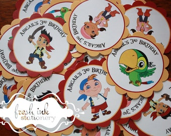 Jake and the Neverland Pirates Stickers