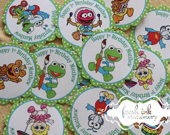 The Muppet Babies Stickers Personalized Stickers