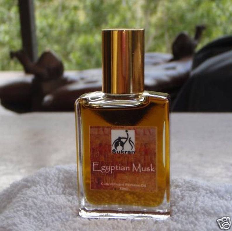 EGYPTIAN MUSK SUPERIOR Perfume Oil by Sukran 15ml  Lasts all image 0