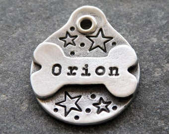 Dog Tags for Dogs Personalized Dog ID Tag Custom Dog Tag for Collar Stars Personalized Dog Tag