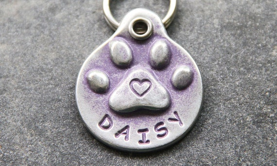 Les animaux cadeaux personnalisé étiquette de chien pour chien animaux Tag ID Pet personnalisé Tag chien ID Tag accessoires pour animaux de compagnie chien nom fait à la main collier de chien Pet ID Etiquettes
