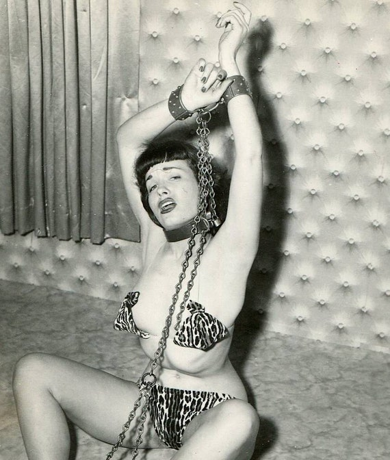 Items Similar To 1950S Original Bettie Page Irving Klaw -1488