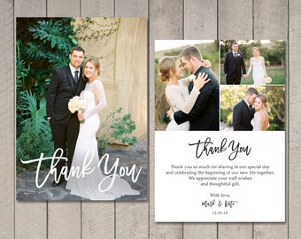 wedding thank you card printable by vintage sweet - Wedding Thank You Cards