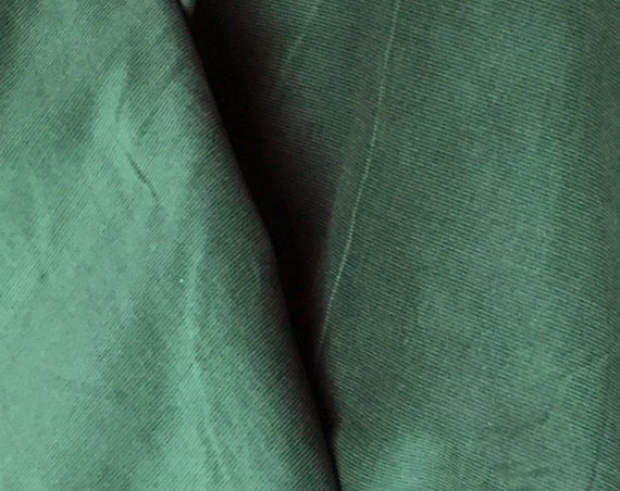 Corduroy / Green Corduroy / Hunter Green / Baby Wale Corduroy  / Fine Wale Corduroy / 21 Wale Corduroy / Can Be Smocked / by Fabric Finders
