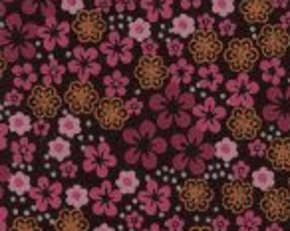 "Small Print Fabric / Flower Print Fabric / Dress Fabric / Quilting Fabric / 100% Cotton / 60"" Wide / from Fabric Finders  FF-982"