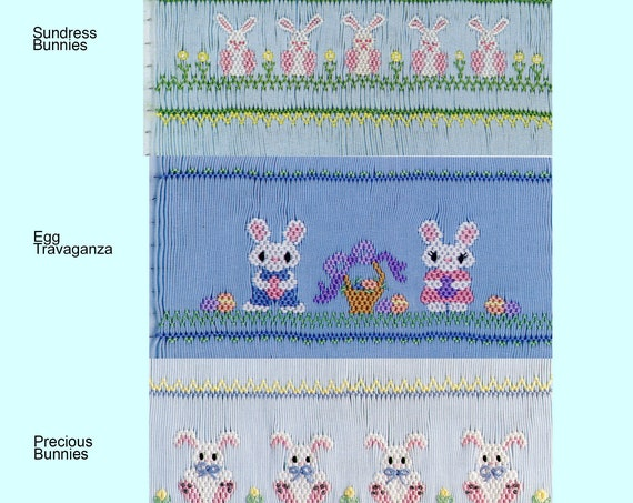 Easter Smocking Plates /Smocking /Smocked Dress / Easter Outfit / Smocked Romper / Smocking Plate / Ellen McCarn Smocking Plates