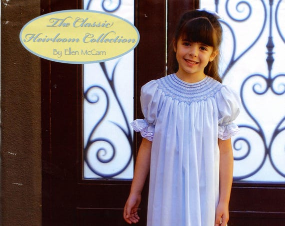 Smocked Dress Pattern / Smocked Bishop Pattern /Ultimate Bishop Pattern / Classic Bishop Pattern /  by Ellen McCarn