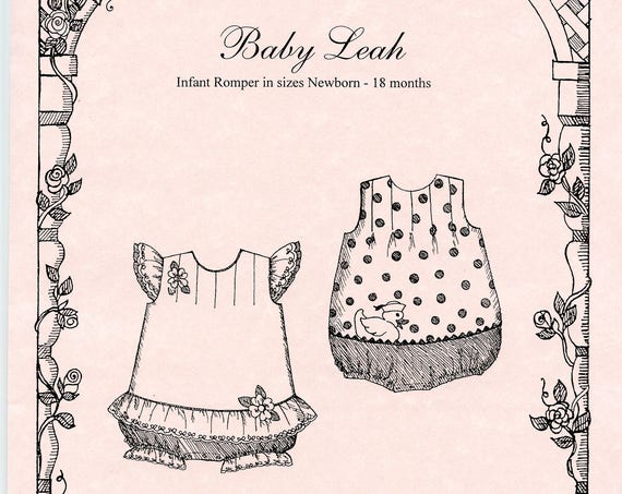 Romper Pattern /  Bubble pattern / Baby Girls / Snap Crotch / Baby Leah / by Primrose Lane