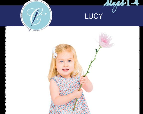 Childrens Corner Pattern / Lucy Pattern / Sundress Pattern / Jumper Pattern / Button Shoulder Pattern / Easy / Children's Corner 241