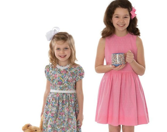 Childrens Corner Pattern / Victoria / Dress Pattern / Smocked Dress Pattern  / Flower Girl Dress / First Communion Dress /  302