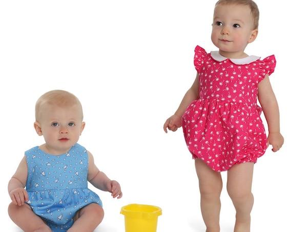 Childrens Corner / Harper Pattern / Bubble / Sunsuit / Smocked Option  / Angel Sleeves or Sleeveless / Raised Waist / Snap Crotch / 299