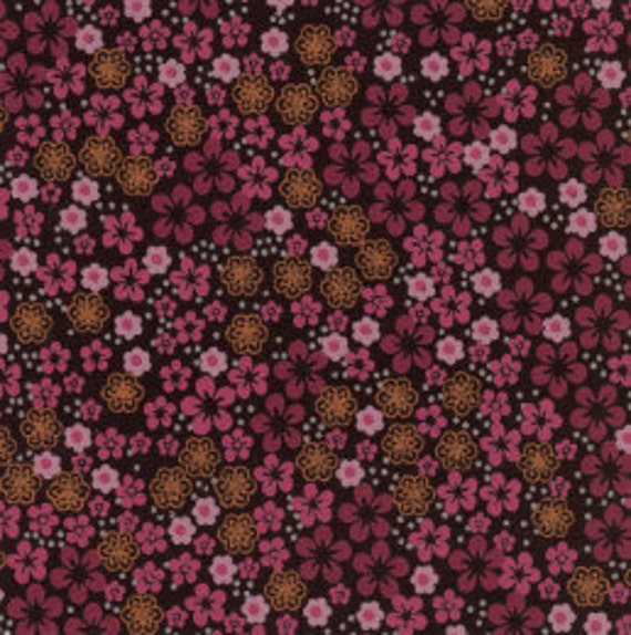 """Small Print Fabric / Flower Print Fabric / Dress Fabric / Quilting Fabric / 100% Cotton / 60"""" Wide / from Fabric Finders  FF-982"""