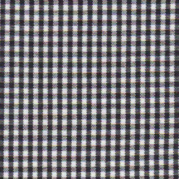"Gingham/ Black Gingham / Small Gingham / 1/16 Gingham  / by Fabric Finders 60"" wide"