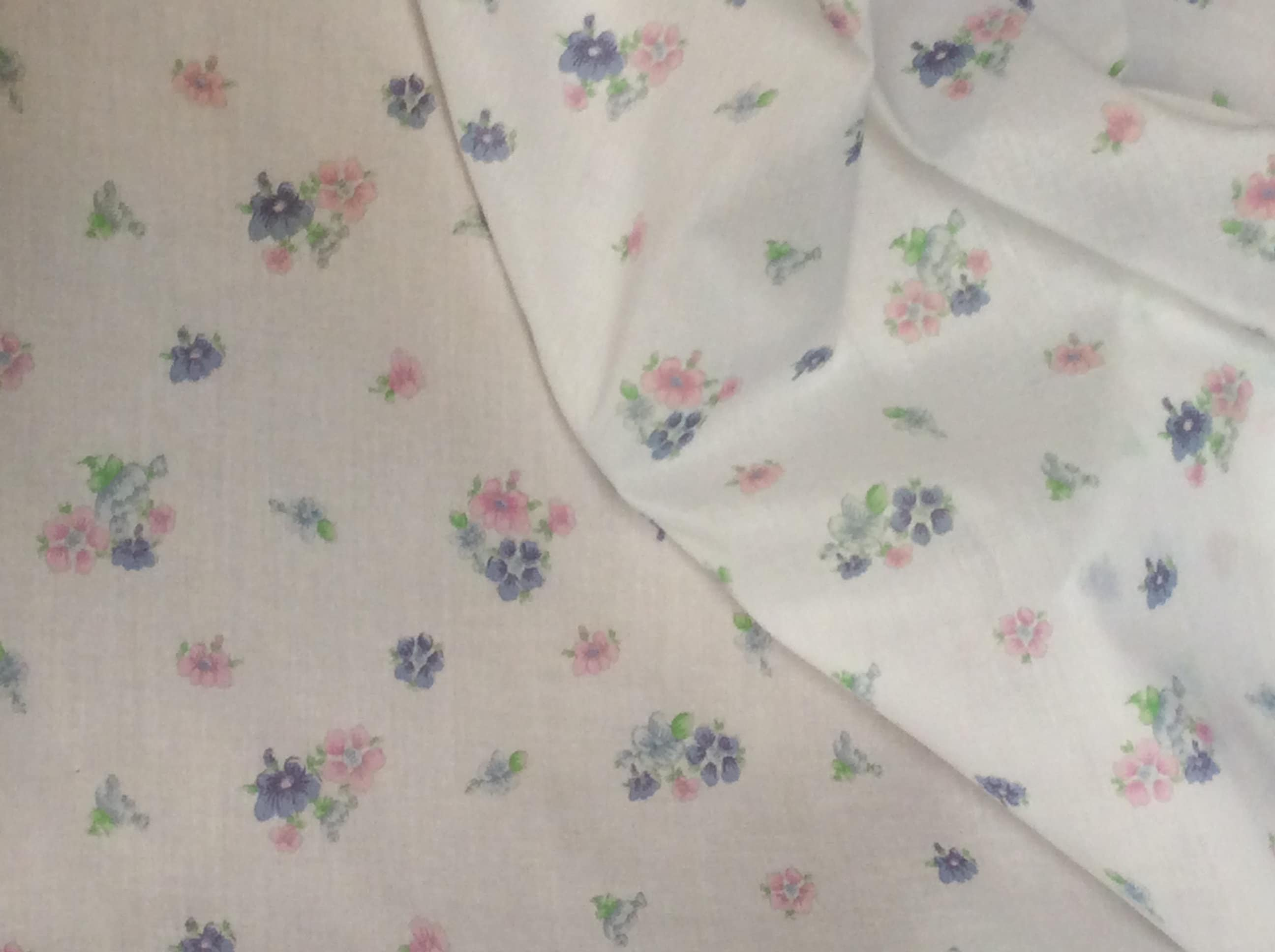 Fabric Lawn Fabric Floral Print Smocking Fabric Dress Fabric