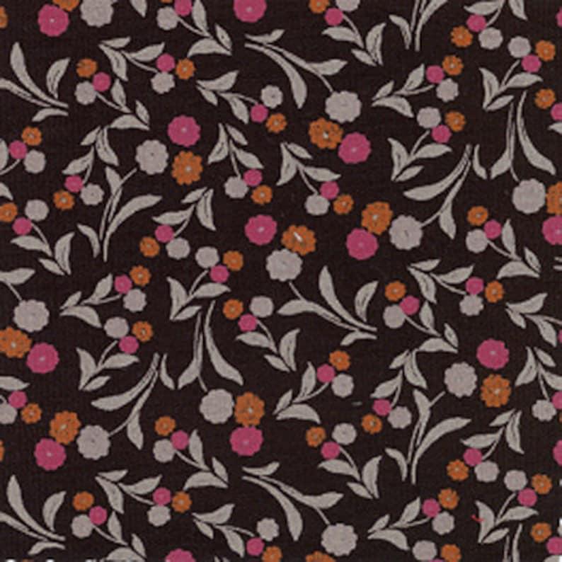 Fabric / Floral Print / 100% Cotton / Smocking Fabric / image 0