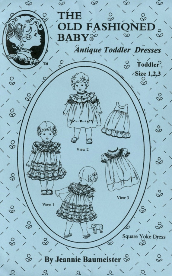 Toddler Dresses / Antique Pattern / Vintage Style / Girls Dresses / Heirloom Dresses / by The Old Fashioned Baby / 10