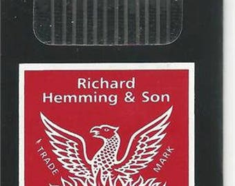 Hand Sewing Needles / Milliners-(Straw) Needles  / 4 Milliners / 7 Milliners / 8 Milliners /Richard Hemming / Sold by Package