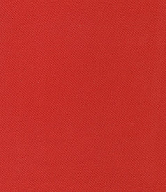 """Red Twill / 100% Cotton / by Fabric Finders 60"""" wide"""