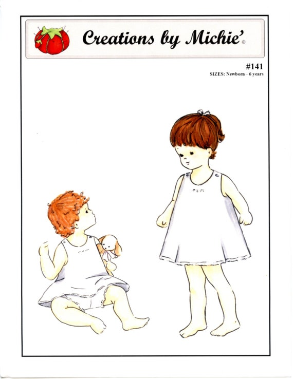 Slip and Panties Pattern by Creations by Michie #141