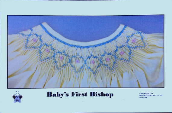 Smocking Plates / Geometric Smocking / Baby's First Bishop / Smocked Bishop Dress / Smocked Dress / Smocked Romper / CEC Smocking Plates