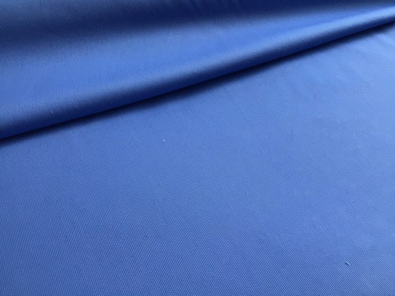 "Pique Fabric / Cobalt Pique / 100% Cotton / Use For Clothing or Quilting / Pleats well for Smocking / 60"" wide / by Fabric Finders"
