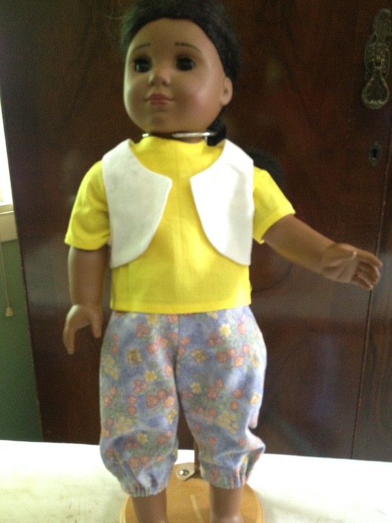 """Doll Clothes / 18"""" Doll Clothes / Pants / Vest / Shirt / Supports Women for Women International"""