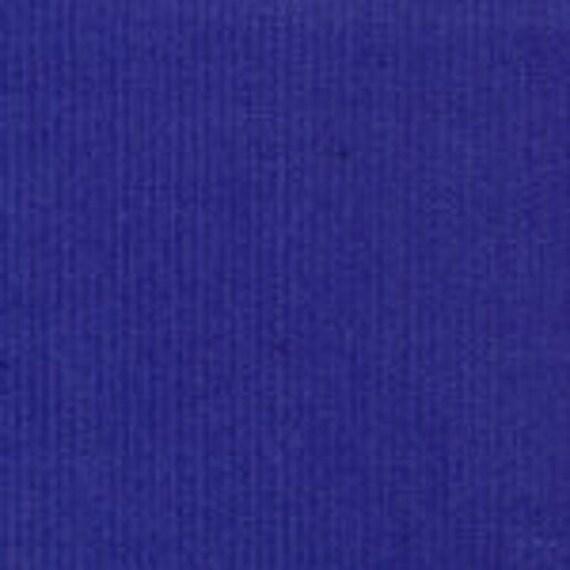 Corduroy Fabric / Royal Blue Fabric / Baby Wale Corduroy / Fine Wale Corduroy / 21 Wale Corduroy / Fabric Finders