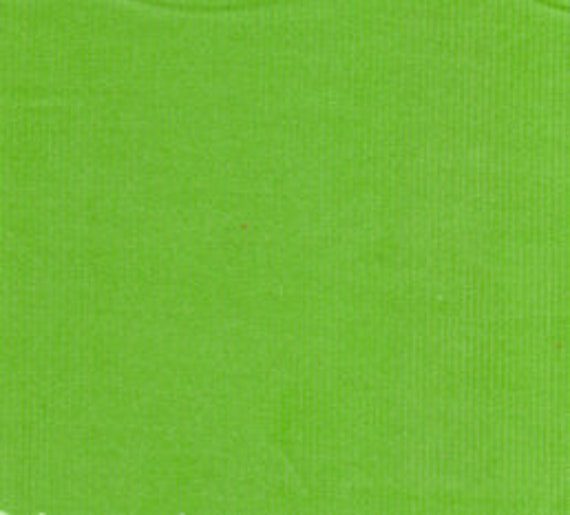 "Corduroy / Green Corduroy / Apple Green / Baby Wale Corduroy  / Fine Wale Corduroy / 21 Wale Corduroy / by Fabric Finders 54"" wide"