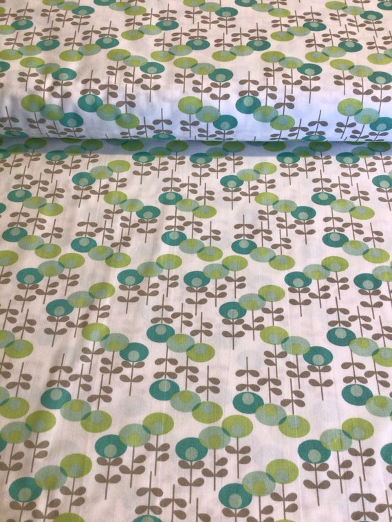 """Fabric / Modern Floral Print/ Smocking Fabric / Dress Fabric / Quilt Fabric /Childrens Clothes / Mask Fabric / 100% Cotton / 60"""" W /"""